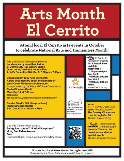 EC Arts Month Poster 2013