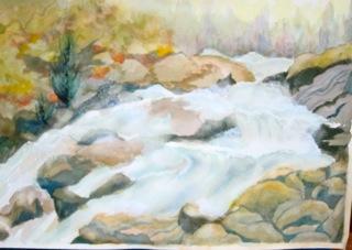 Julia Montrond - Waterfall