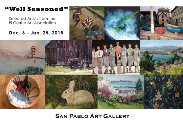 Well_Seasoned Show of 11 ECAA Artists